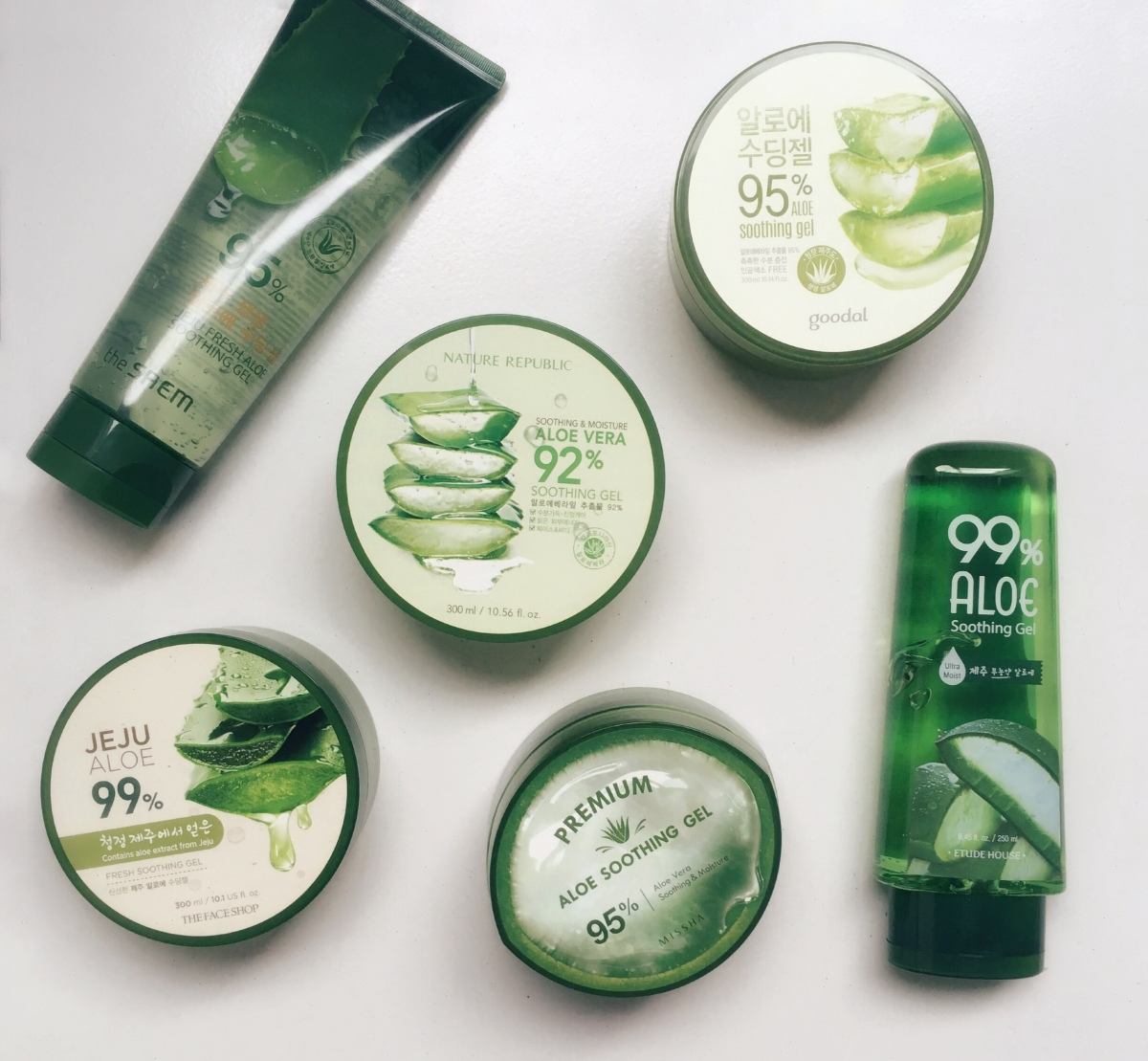 You Had Me At Aloe A K Beauty Gel Comparison Little Driftless Nature Republic Jar Vera Soothing 300 Ml
