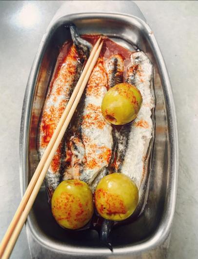 Sardines & Olives
